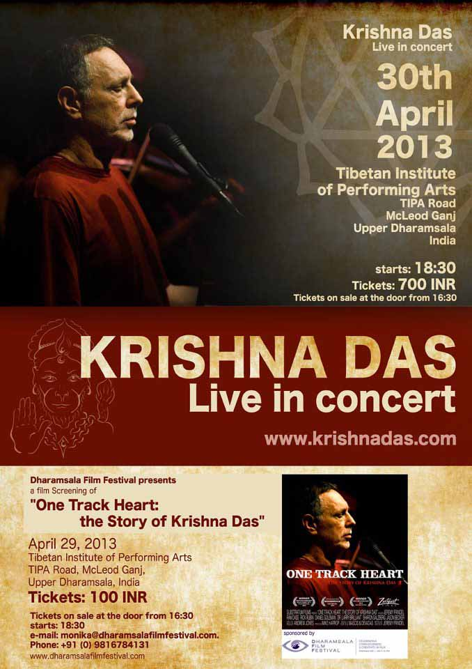 Krishna Das in Dharamsala, India