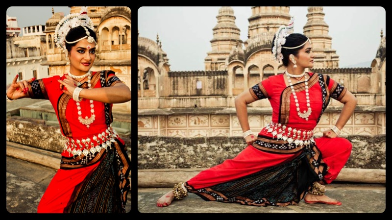 Monika Nataraj Odissi Temple Dance of India