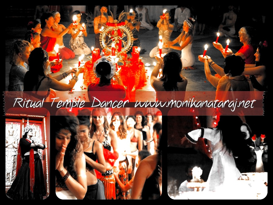 Ritual Temple Dancer with Monika Nataraj